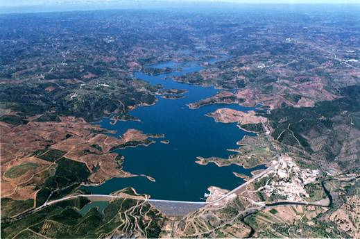 air photo barragem